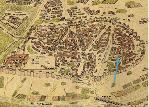 Madrid en el siglo XIV