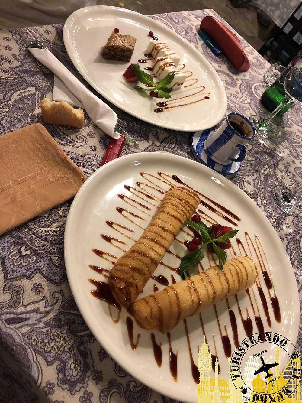Gastronomía armenia. Ereván