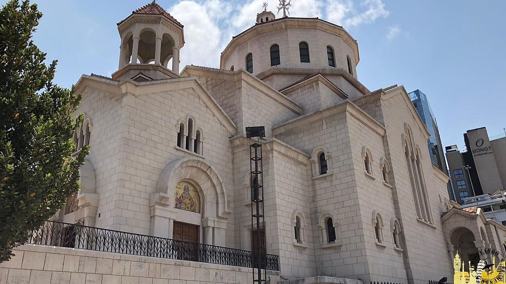 Beirut. Catedral de San Elías y San Gregorio el Iluminador