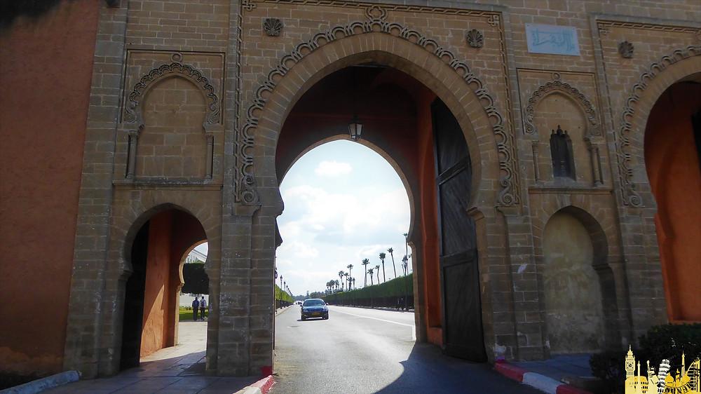 Entrada Palais Royal. Rabat (Marruecos)