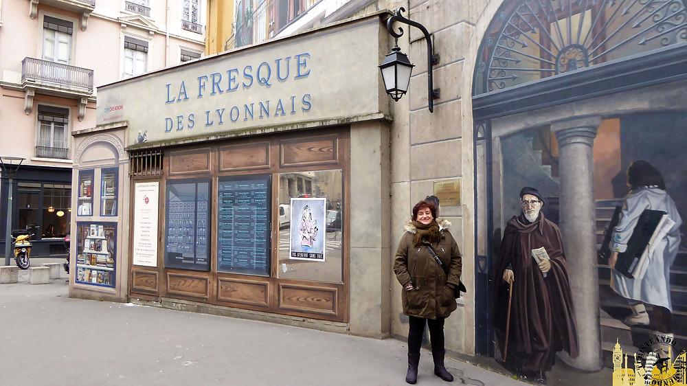 La Fresque des Lyonnais, Lyon (Francia)