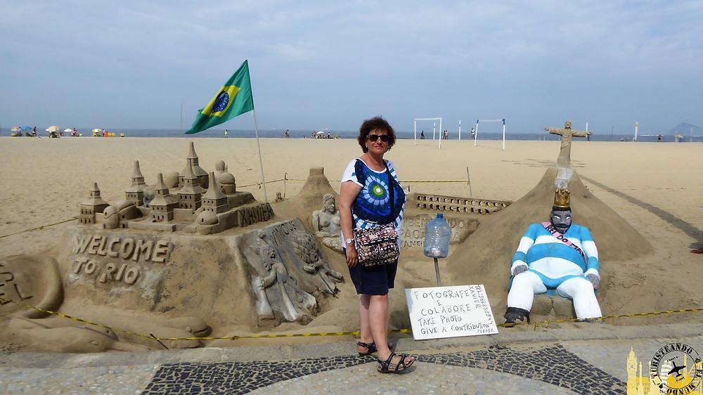 Playa Copacabana. Río de Janeiro (Brasil)