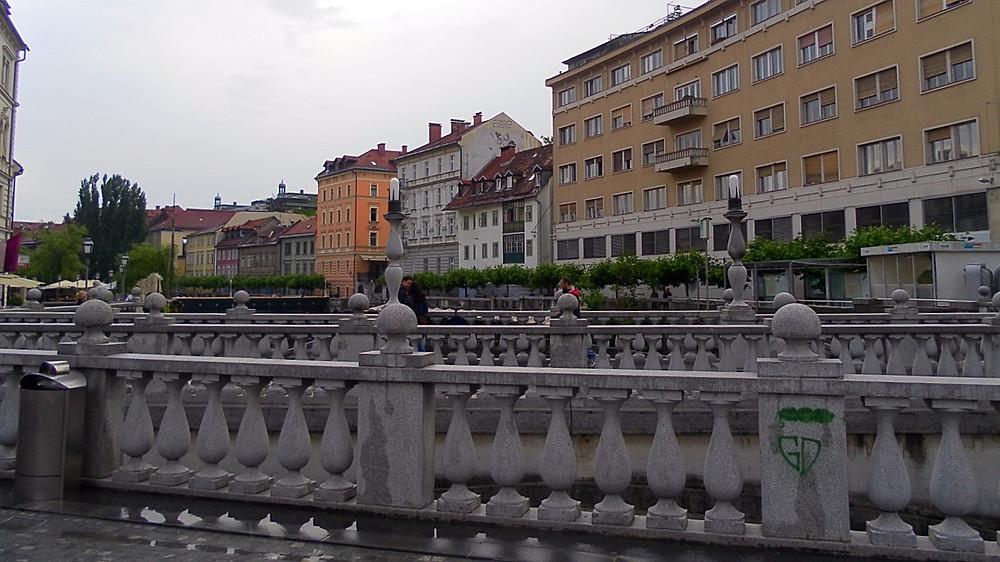 Liubliana (Eslovenia). Triple Puente
