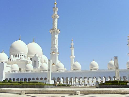 Abu Dhabi (Emiratos Árabes) y su Grán Mezquita