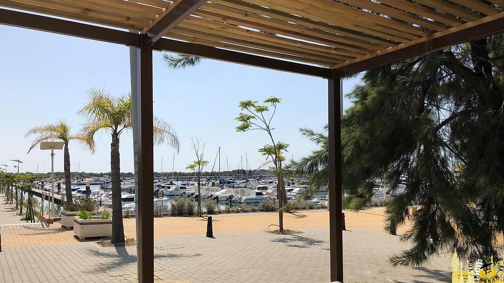 Puerto deportivo de Mazagón (Huelva). España