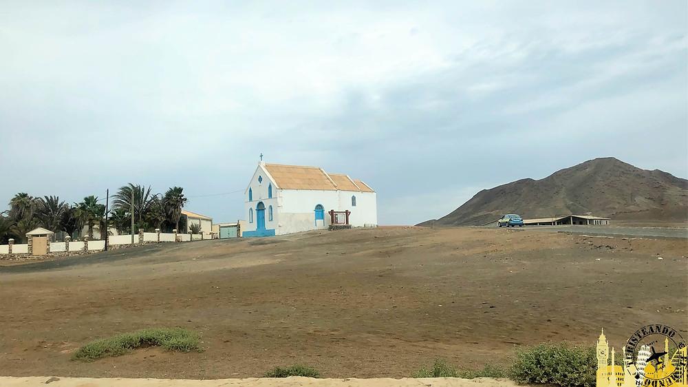 Isla de la Sal (Cabo Verde). Iglesia Pedra de Lume