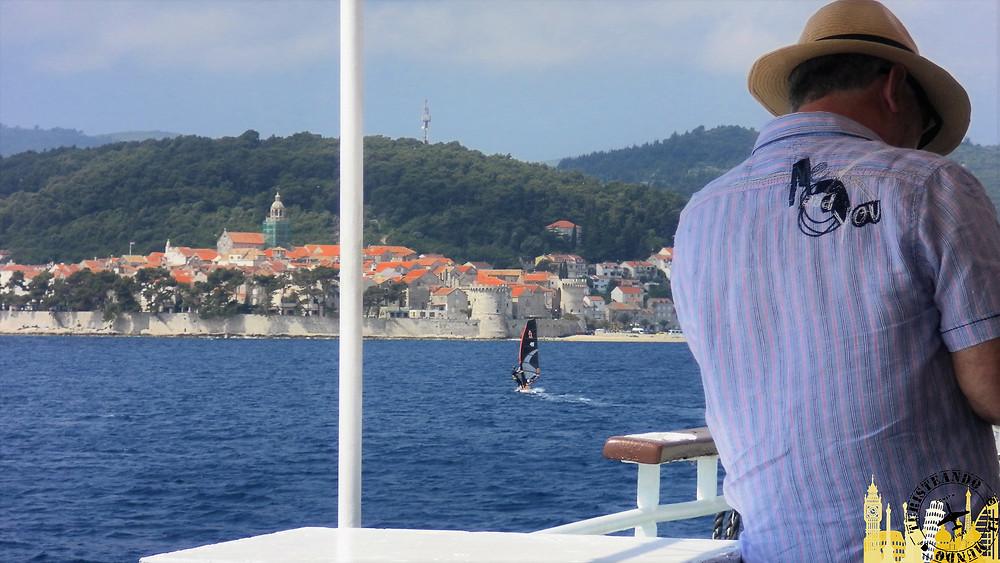 Barco Orebic-Korcula (Croacia)