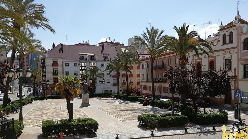 Plaza Iglesia San Pedro. Huelva (Andalucía). España