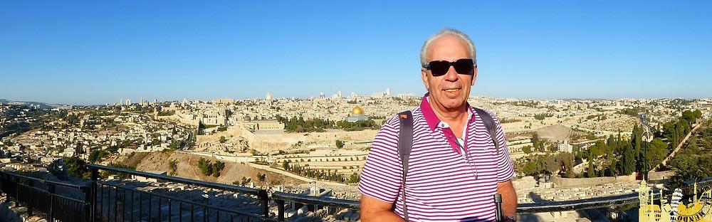 Jerusalén. Vistas hotel 7 arcos