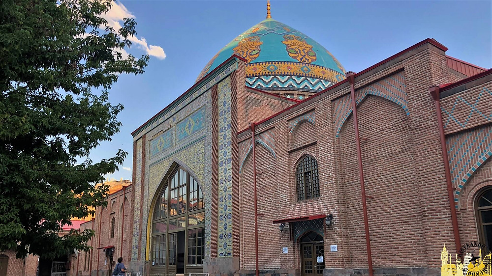 Mezquita Azul. Ereván