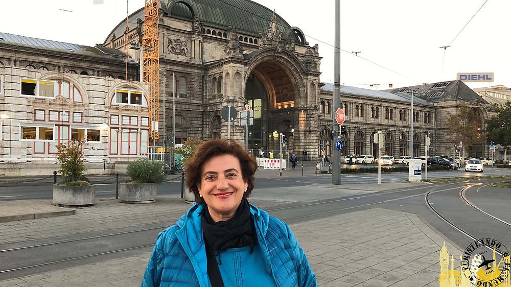 Nüremberg (Alemania). Estación trenes