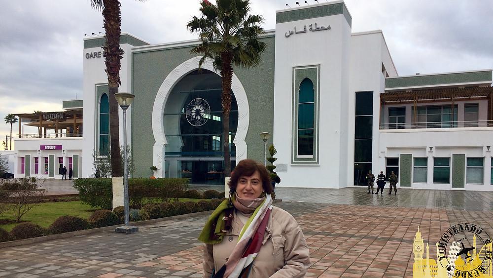 Estación de tren de Fez (Marruecos)