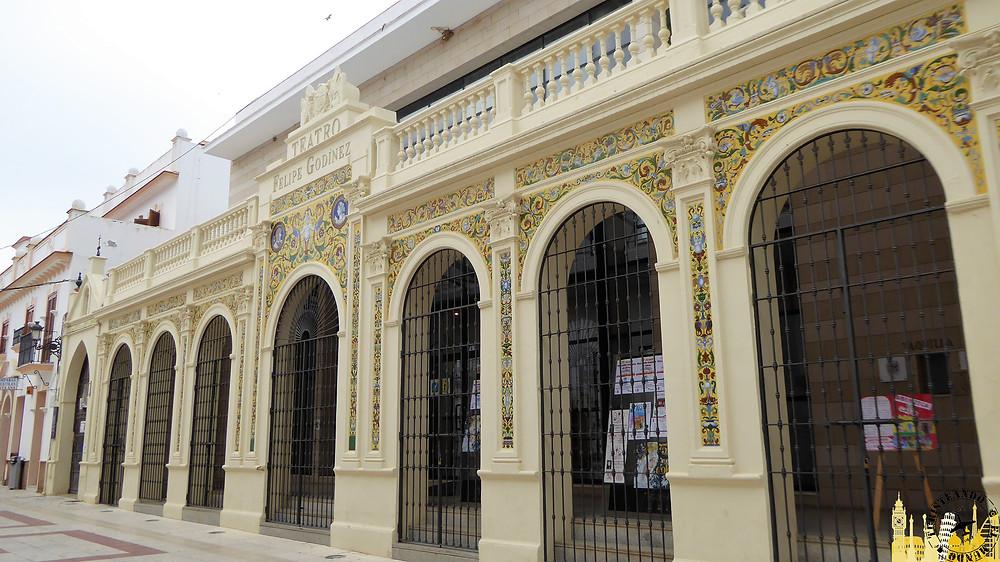 Teatro Felipe Godinez. Moguer. Andalucía (España)