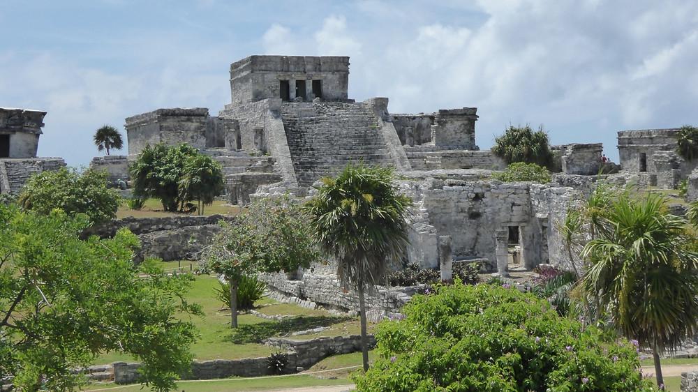 Ruinas Mayas de Tulúm (Yucatán-México)