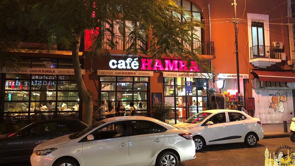 Beirut. Calle Hamra