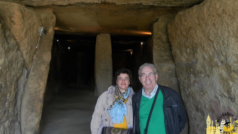 Dólmen de Menga (Antequera). Andalucía