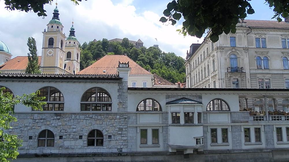 Liubliana (Eslovenia). Río Ljubljanica