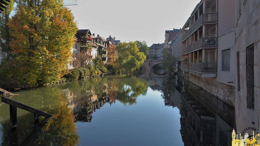 Nüremberg (Alemania). Río Pegnitz