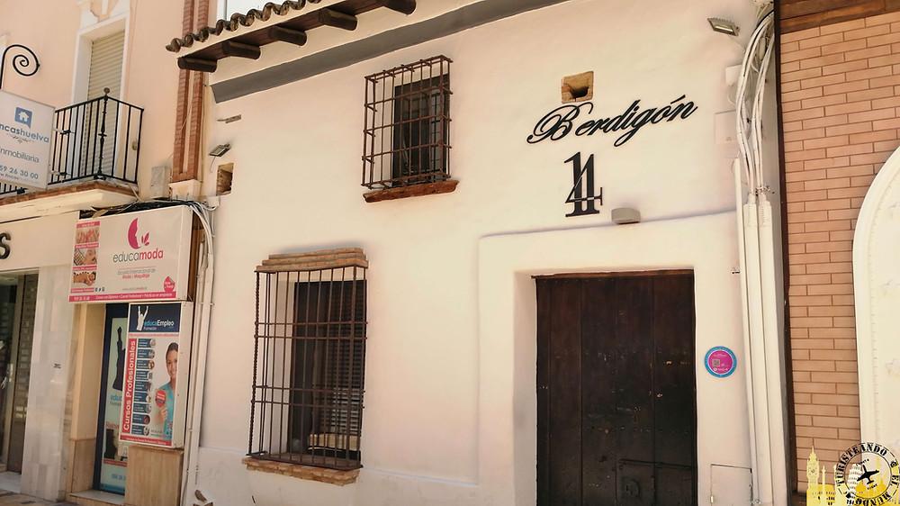 Casa pescadores. Huelva (Andalucía). España