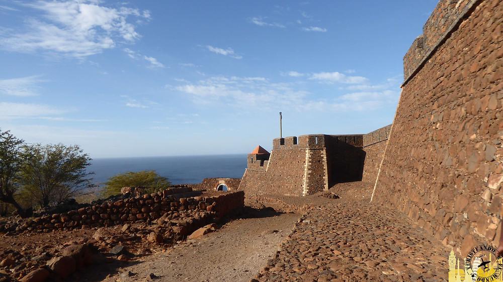 Cabo Verde. Castillo de San Felipe (Ciudade Vielha)