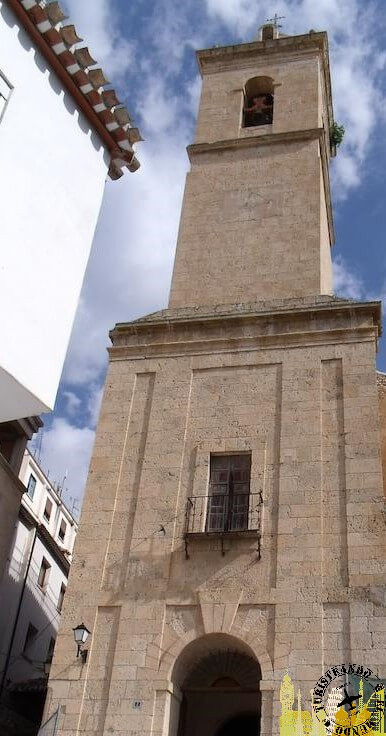 Iglesia de San Andrés de Alcalá del Júcar, Albacete (España)
