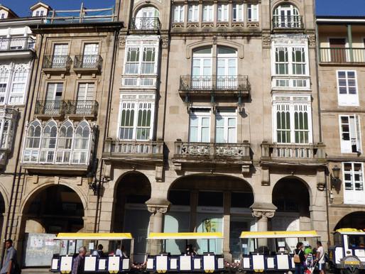 Ourense y su centro histórico. Galicia (España)