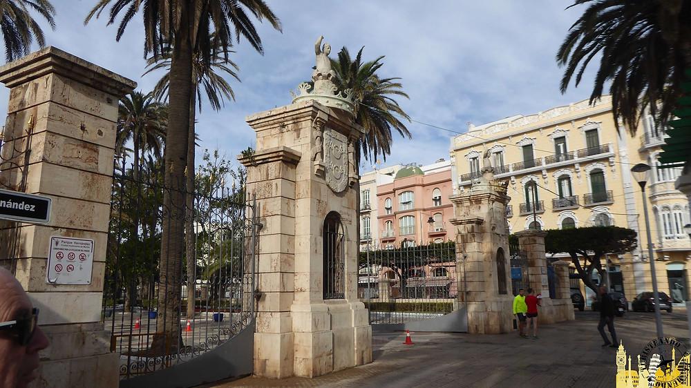 Melilla (España). Parque Hernández