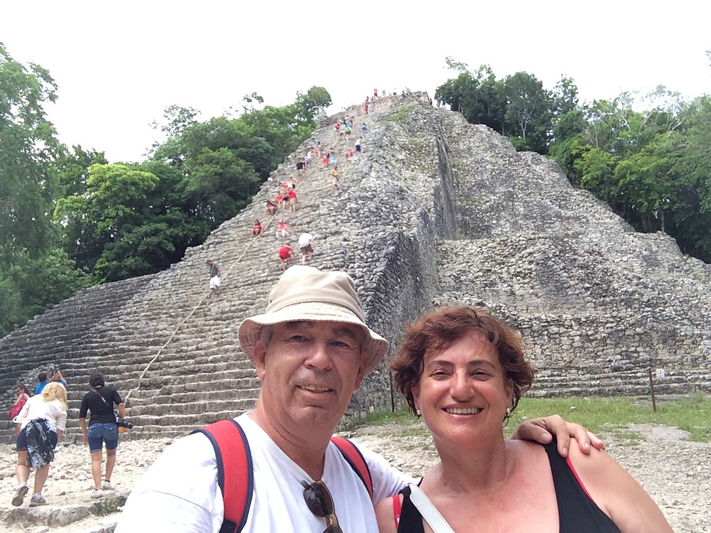 Ruinas Mayas de Cobá (Yucatán-México)