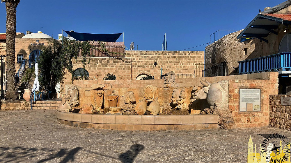 Jaffa. Tel Aviv (Israel). Fuente del Zodiaco