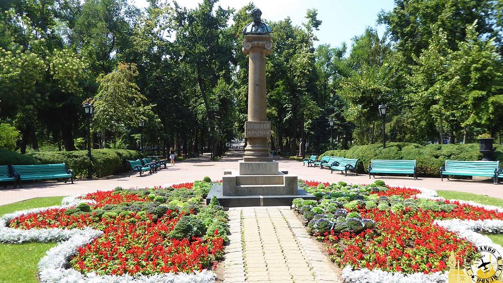 Parque Stefan el Grande. Chisinau (Moldavia)