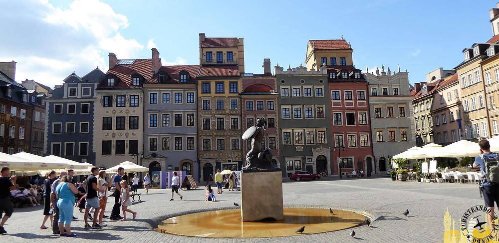 Plaza del Mercado, Varsovia (Polonia)