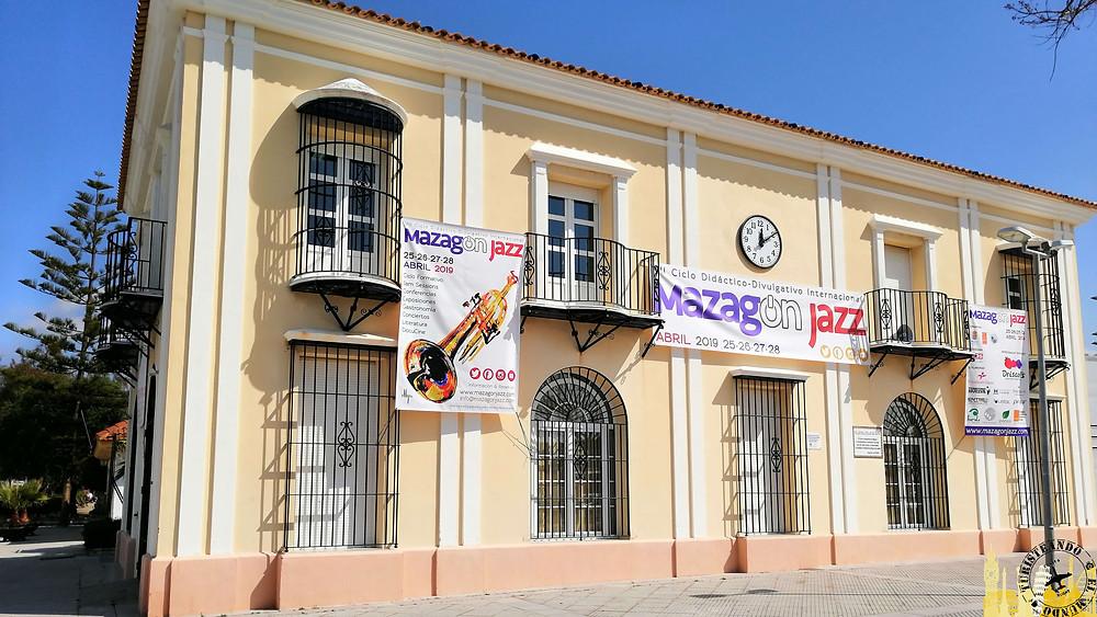 Oficina turismo de Mazagón (Huelva). España