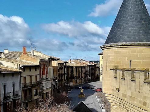 Olite y sus Palacios (Navarra). España