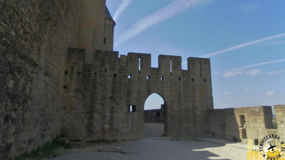 Murallas de la Ciudadela medieval. Carcassonne (Francia)