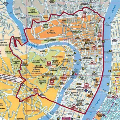 Plano Lyon (Francia)