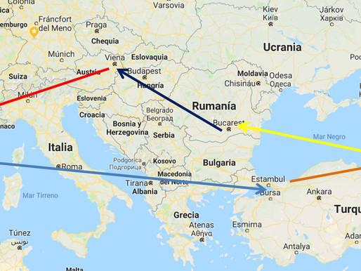 Viaje al Cáucaso: Azerbaiyán, Georgia y Armenia con escalas en Estambul y Viena.