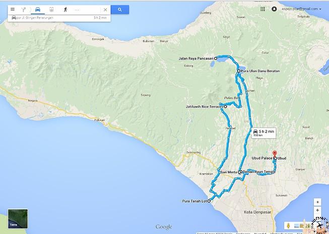 Ruta por Bali