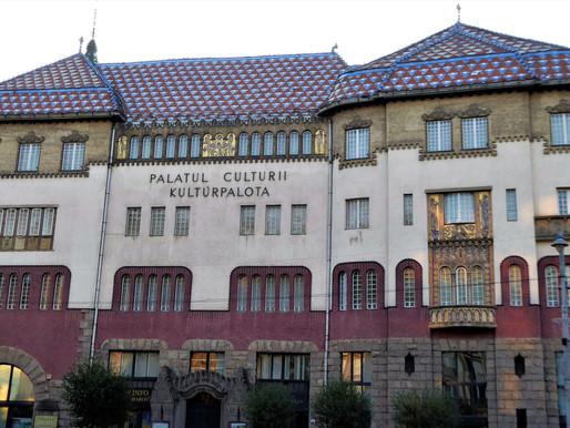 Targu Mures y su Palacio de Cultura. Rumanía