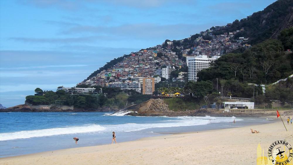 Playa Leblón. Río de Janeiro (Brasil)