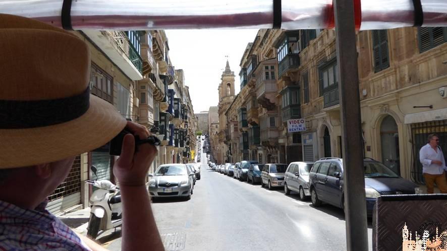 Tren turístico La Valeta