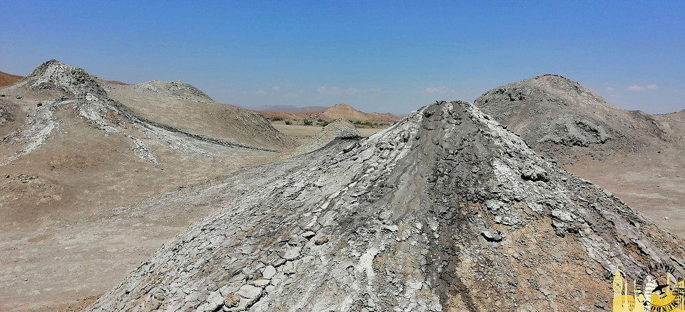 Volcanes de Lodo, Azerebaiyán
