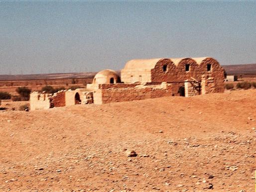 Quseir Amra o el Castillo Rojo (Unesco). Jordania