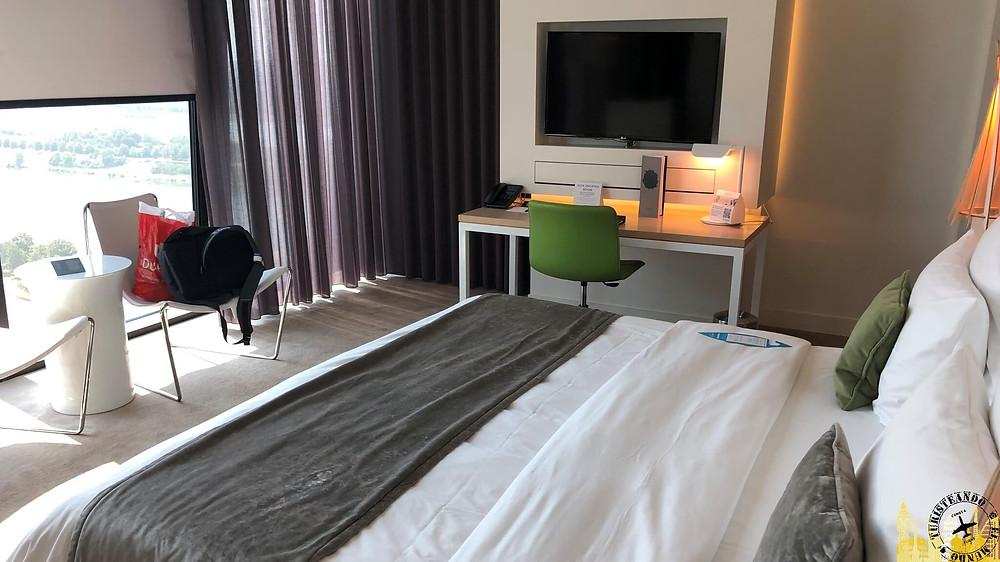 Habitación hotel Meliá Viena