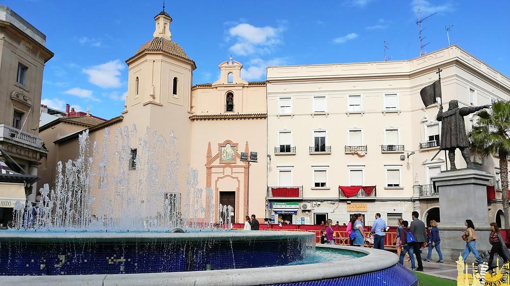 Plaza de las Monjas. Huelva (Andalucía). España