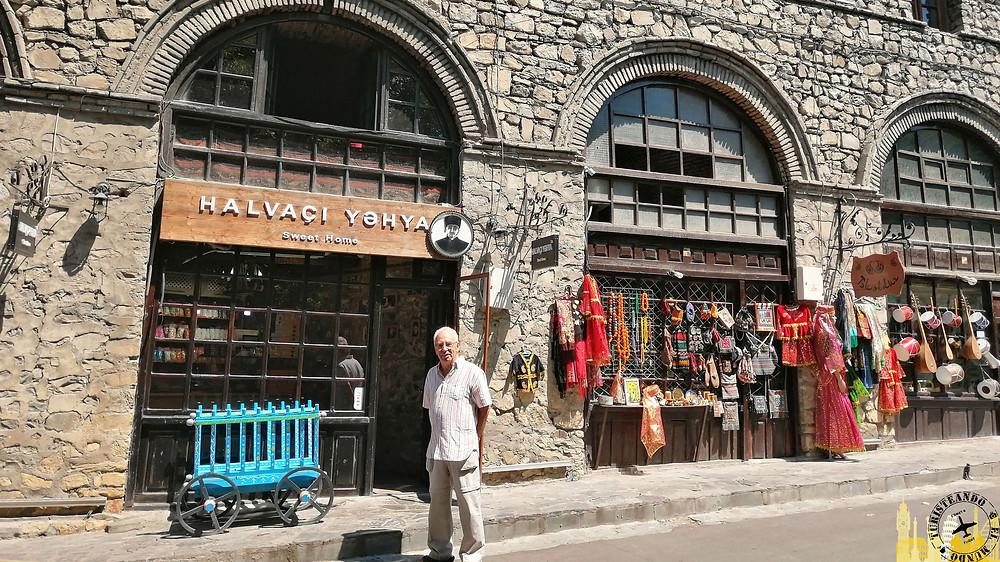 Mercado seco de Sheki (Azerbaiyán)