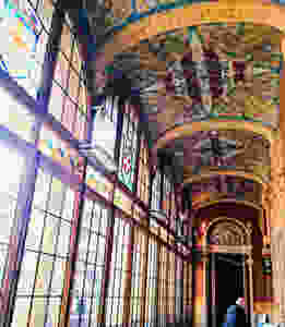Interiores Hospital Sant Pau (Barcelona)