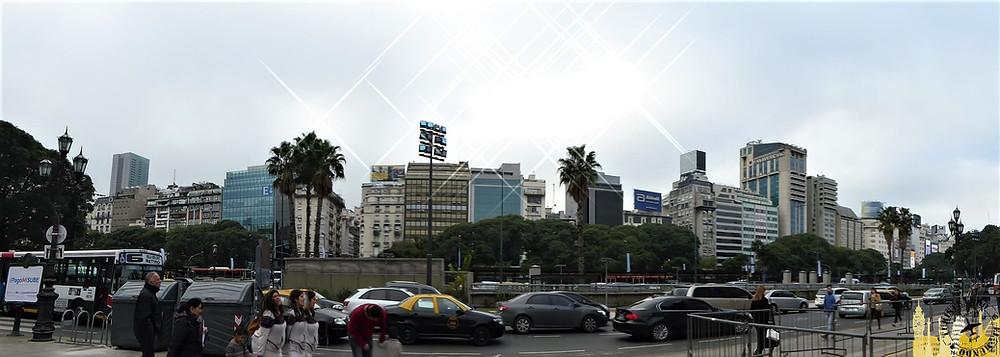 Avenida 9 de julio, Buenos Aires (Argentina)