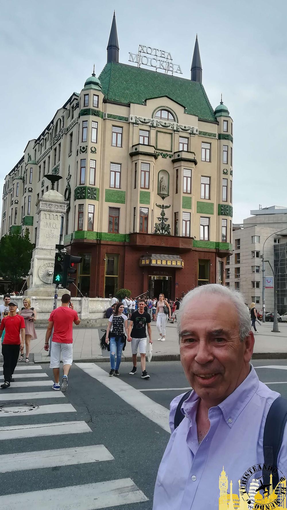 Hotel Moskva. Belgrado