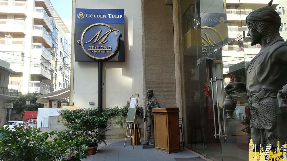 Beirut. Hotel Golden Tulip Midtown Hotel & Suites