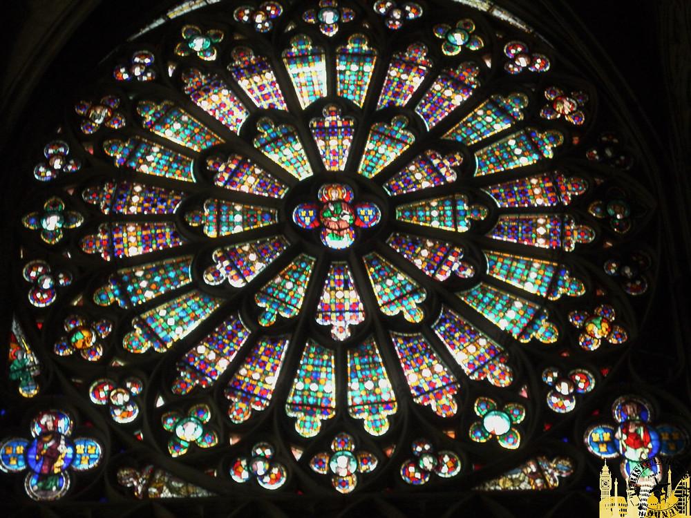 Vidrieras Basilica de Saint Nazaire. Ciudadela medieval de Carcassonne